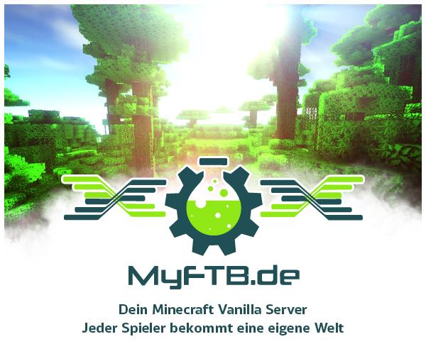 MyFTB dein deutschsprachiger Modded Mc Server thumbnail